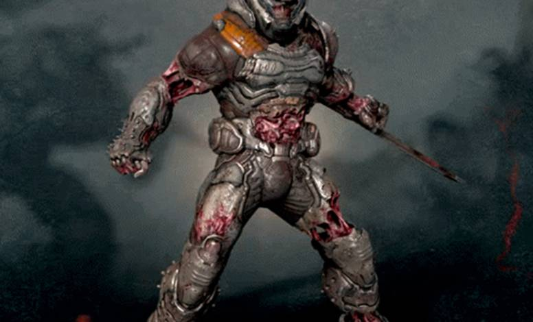 The Zombie DOOM Slayer LIVES