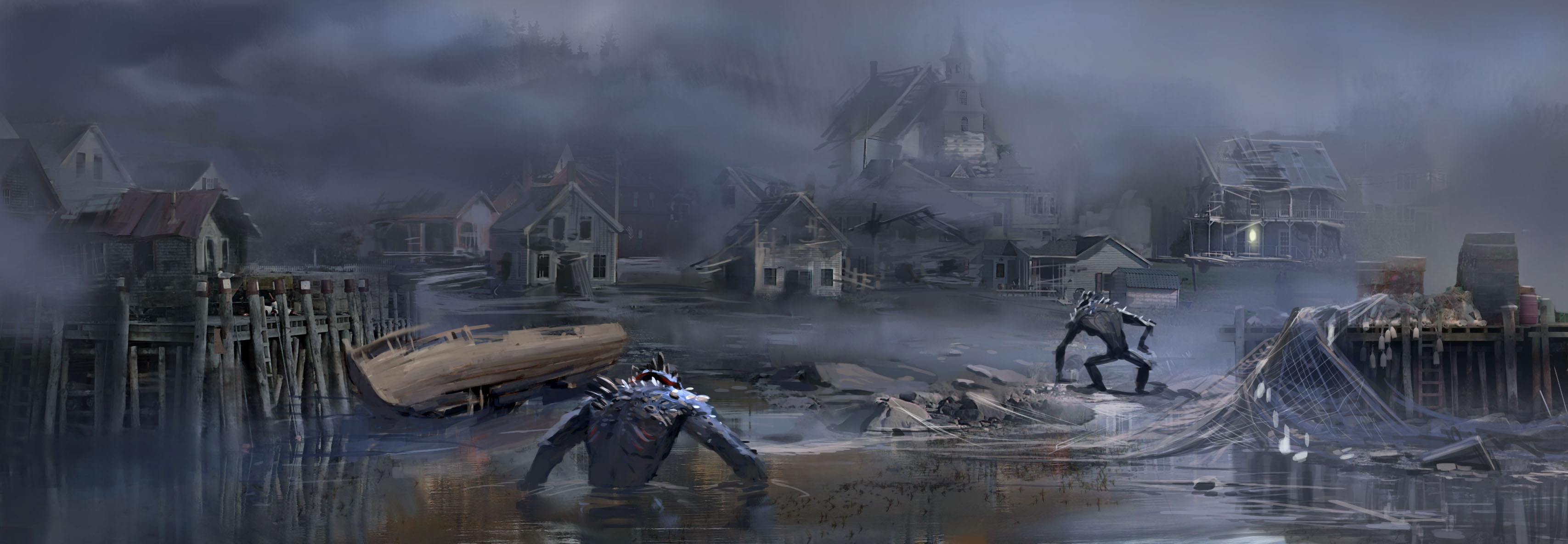 They All Died Out And Washed Against The S Maine Already Has A Certain Spooky Atmosphere You Think About Stephen King