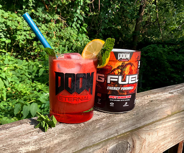 SLAYERS CLUB X G FUEL: Crucible Crush