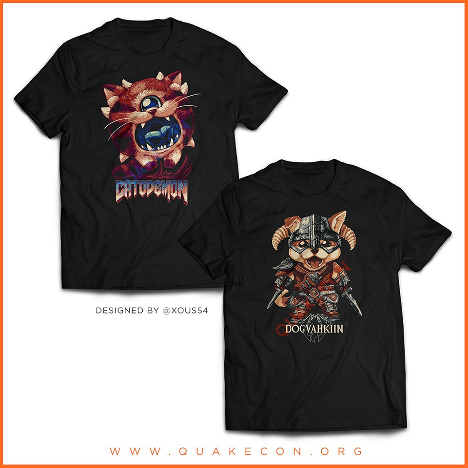 quakecon merchandise
