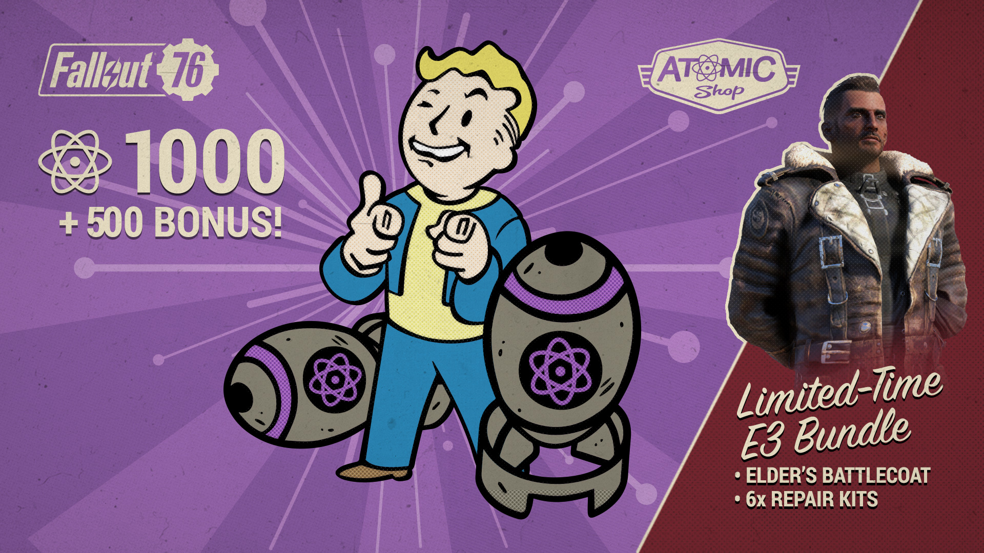 Fallout 76 | Atomic Shop: Patch 10 Items and Sales