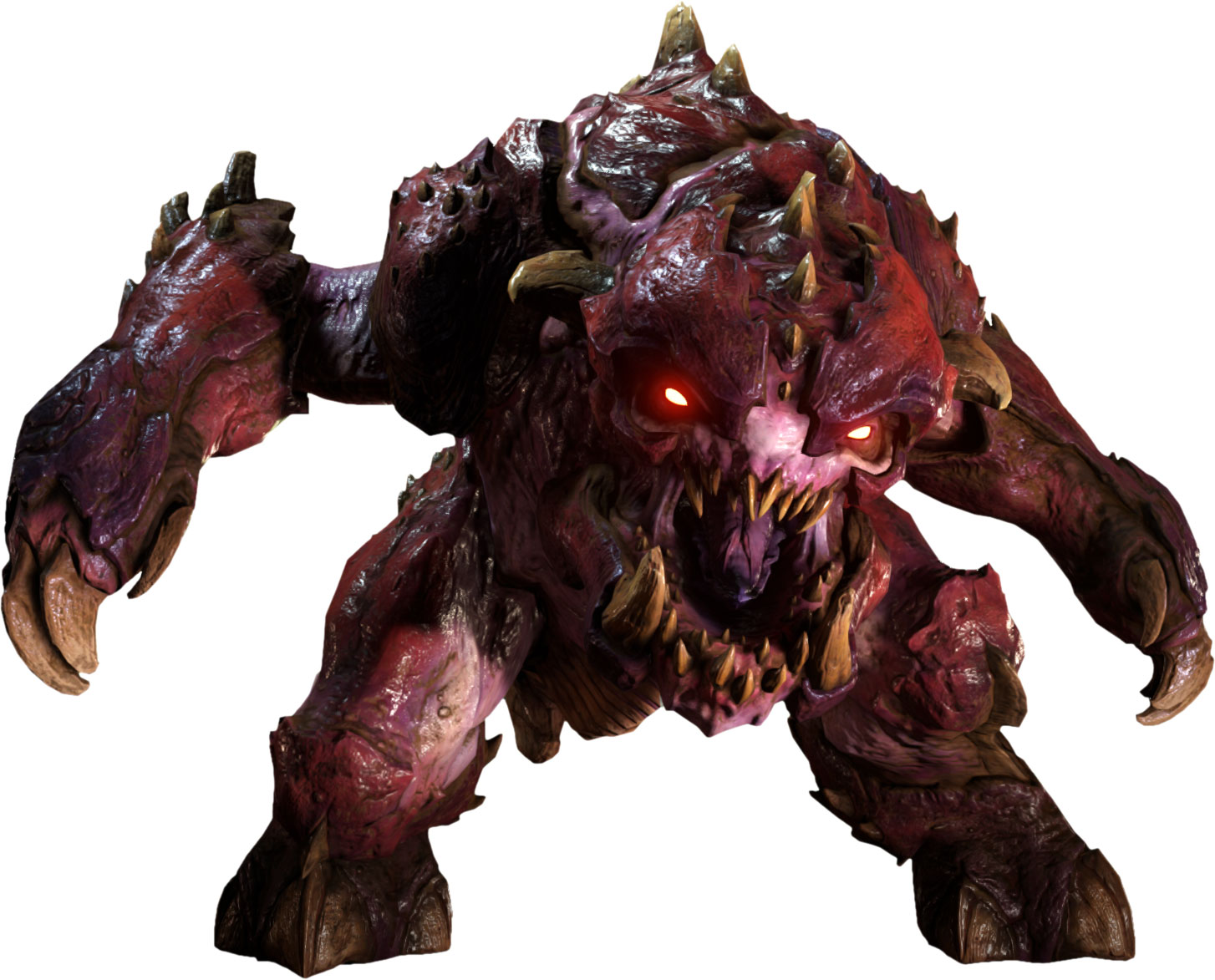Doom Concept Art Monster
