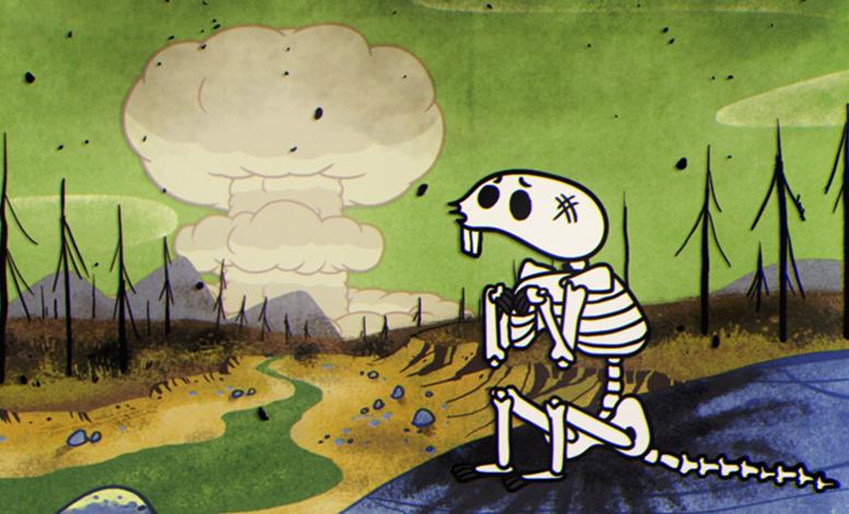 fallout 76 atomics for peace nukes video