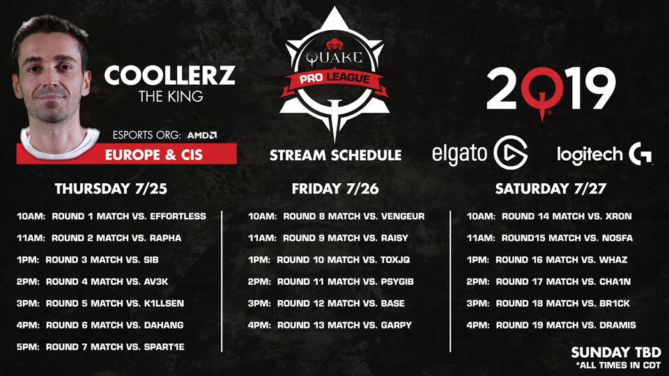 Coollerz-QuakeCon-Schedule 960x540