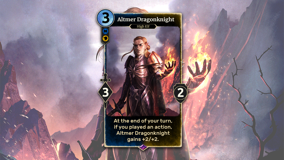 TESL Altmer Dragonknight EN