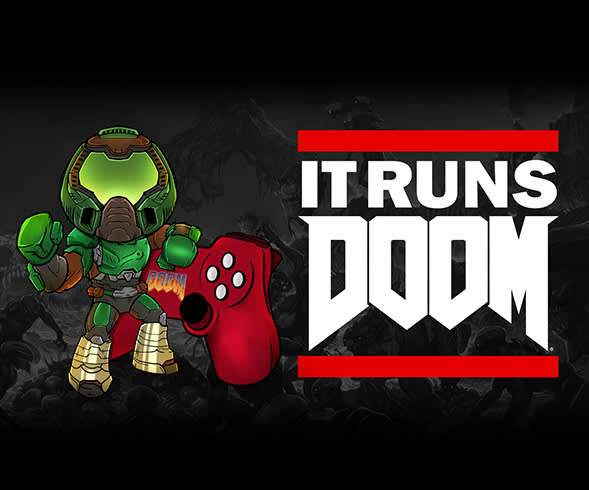 It Runs DOOM #10