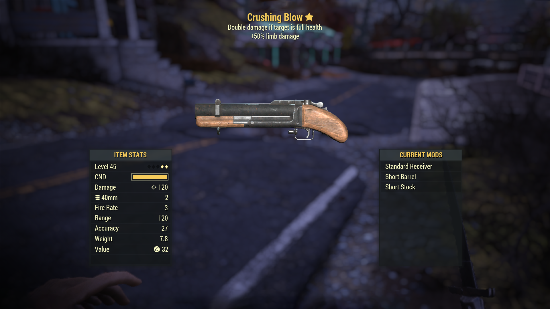 Survival M79 CrushingBlow