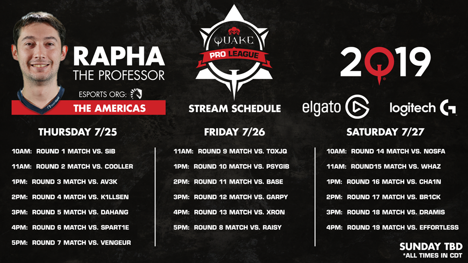 Rapha-QuakeCon-Schedule 960x540