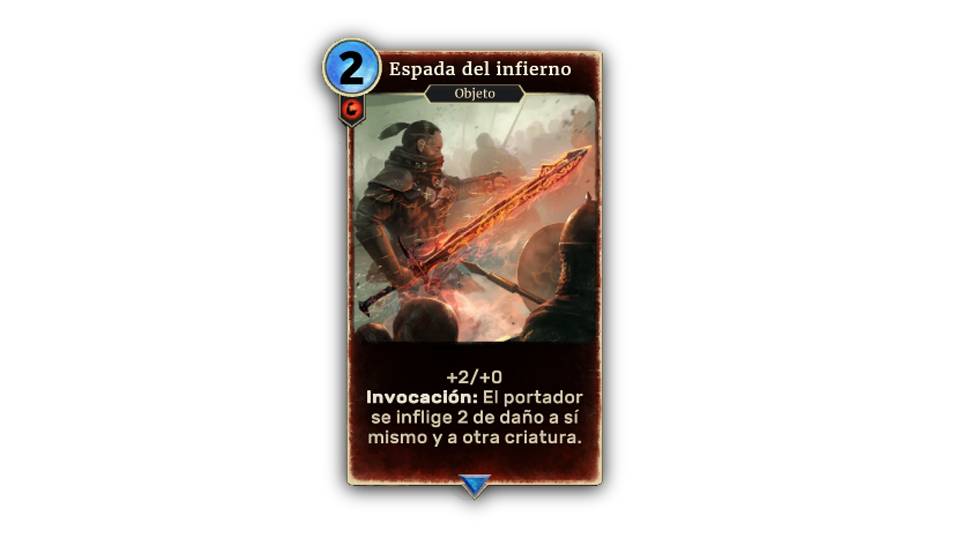 TESL Sword Inferno in-body ES