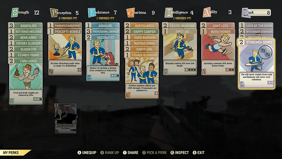Fallout76 WhatsNew Perks