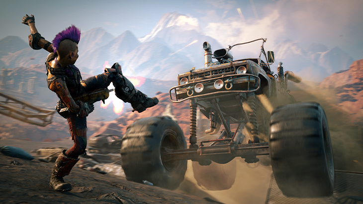RAGE2 Announce MonsterTruck