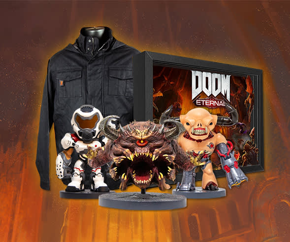 Pick up the latest DOOM Eternal gear before it's gone!