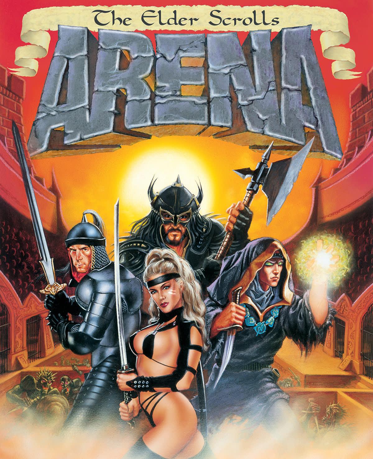 The Elder Scrolls | The Elder Scrolls: Arena