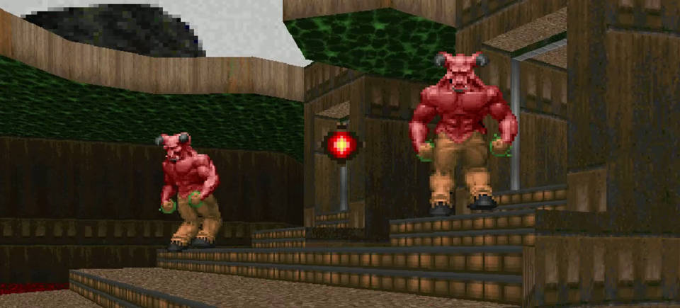 Top 5 DOOM Bosses - #5: The Barons of Hell