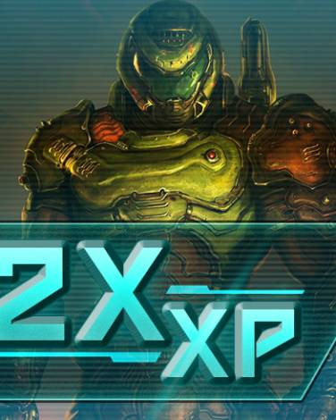 Rack up DOUBLE XP in DOOM Eternal this weekend!