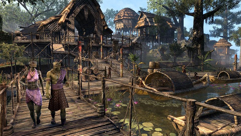 The Elder Scrolls Online Adding Murkmire Story Expansion