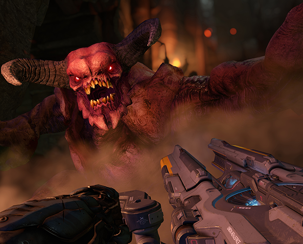 DOOM Switch Update Adds Motion Controls & Party Support