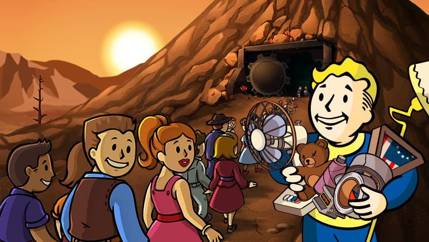 Fallout Shelter Update 1 4 Now Available – Crafting