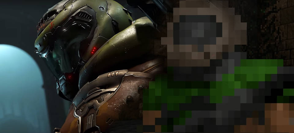 Check out this recreation of the DOOM Eternal trailer made with…DOOM II?