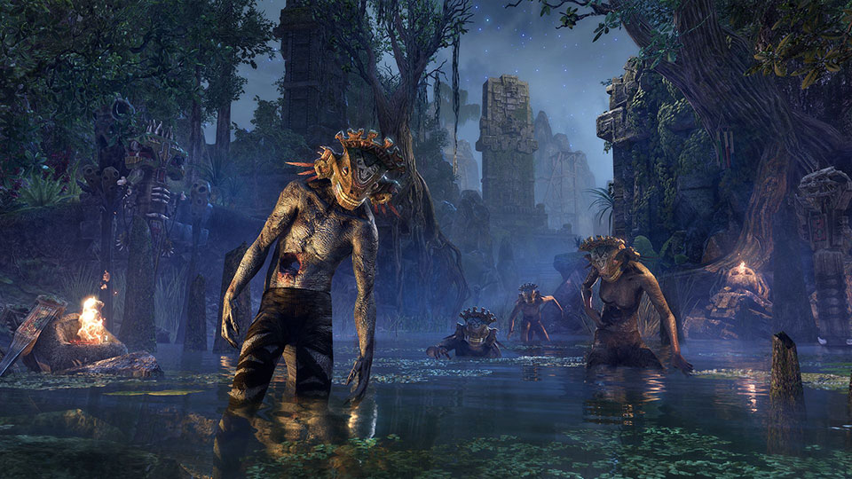 ESO swamp creatures