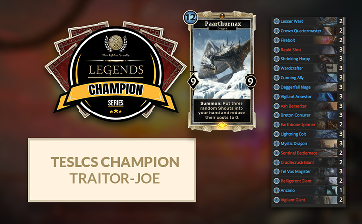 TESL TraitorJoe Deck6