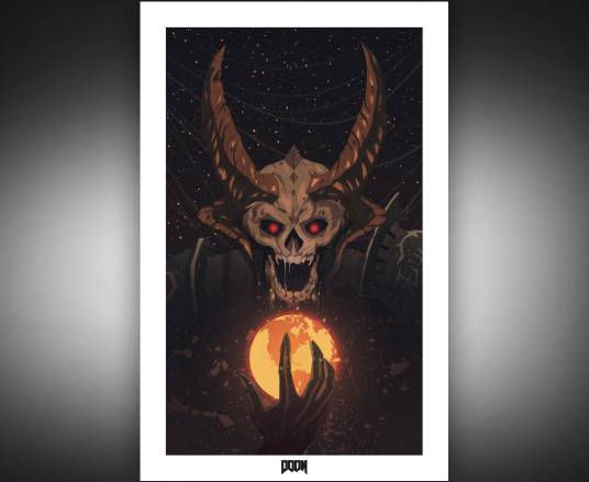 "Limited Edition ""Hell Arrives"" Poster"