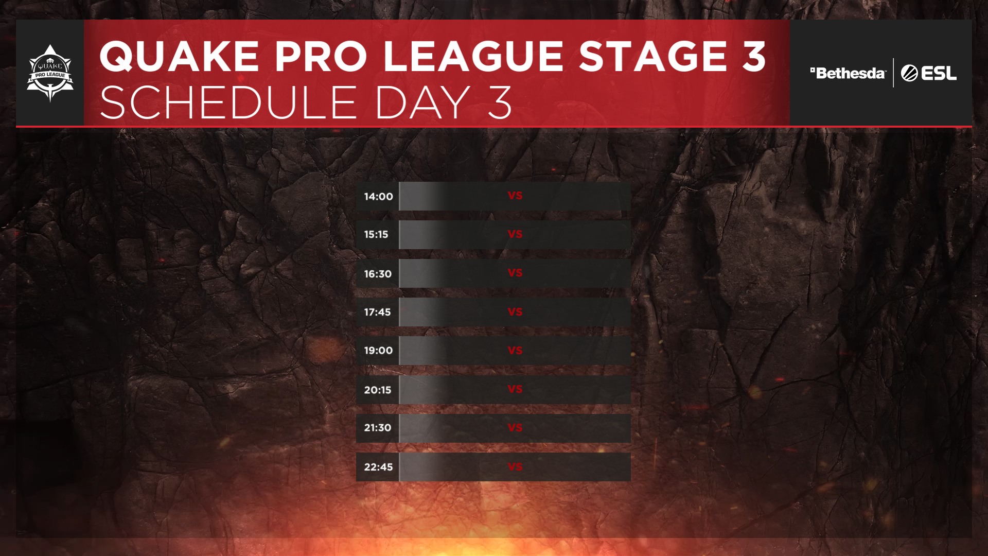 QPL - Stage 3 Finals - Day 3