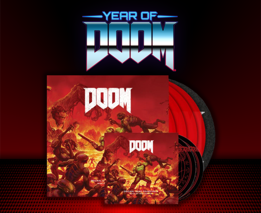 Limited Edition DOOM Vinyl Box Set