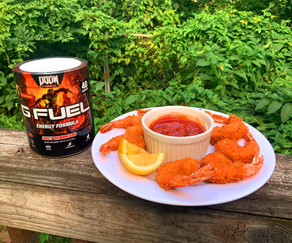 SLAYERS CLUB X G FUEL: G Fried Shrimp
