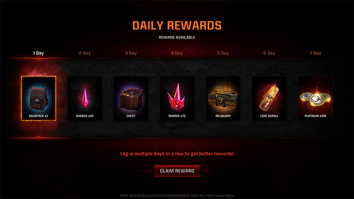 QC Daily Rewards in-body