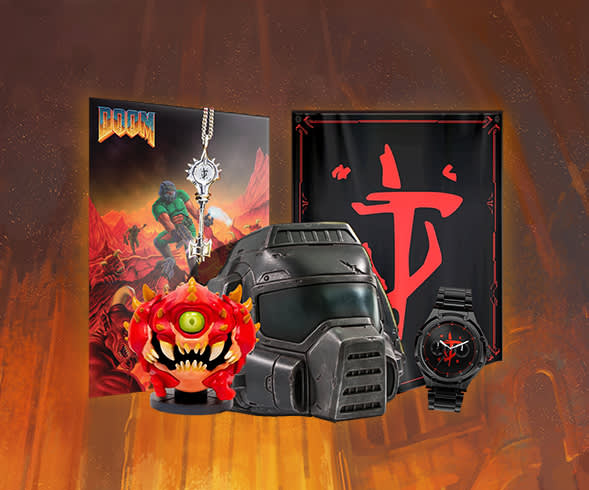 More sweet DOOM Eternal gear is here!