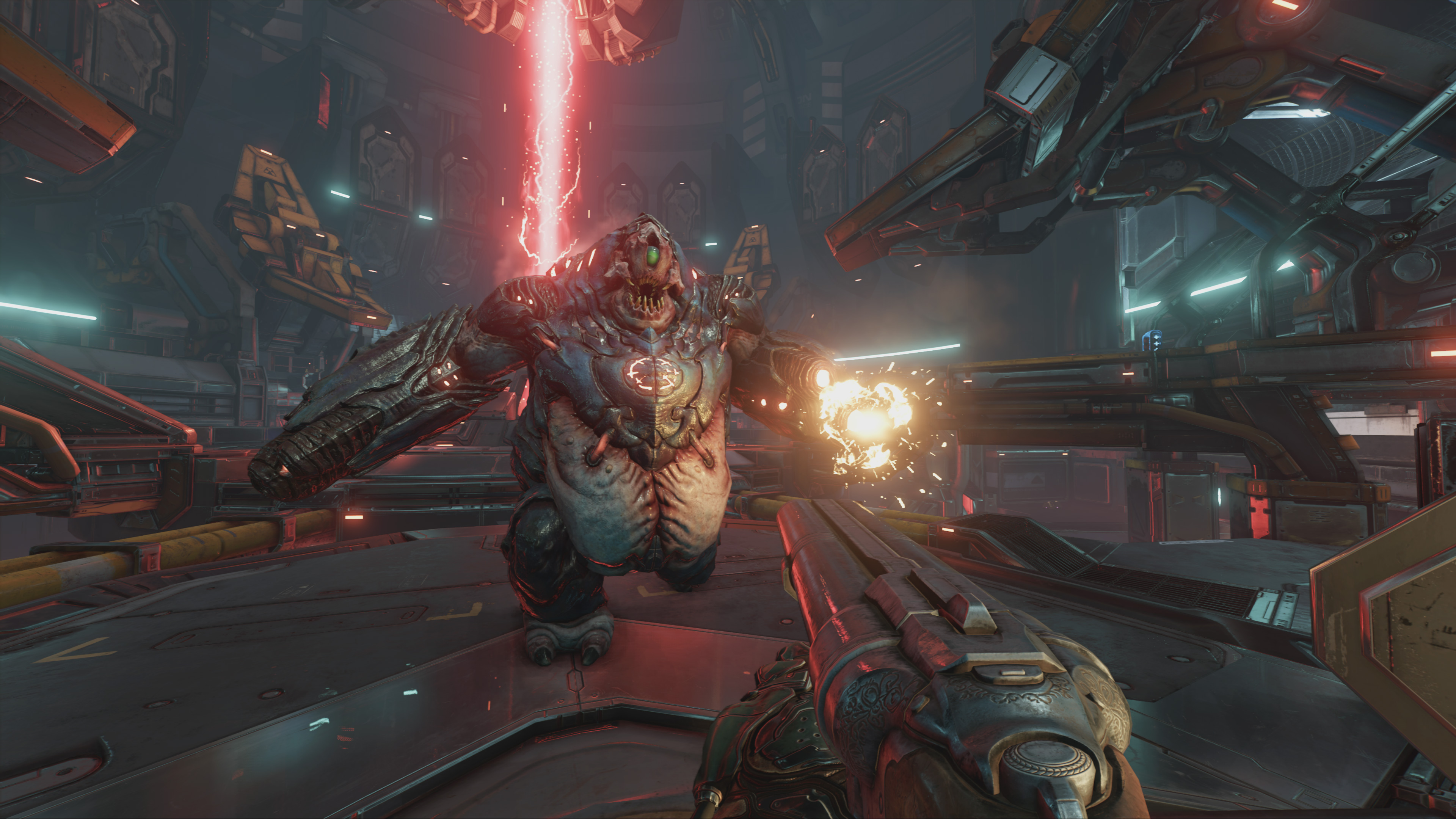 Experience DOOM in 4K - Now Available