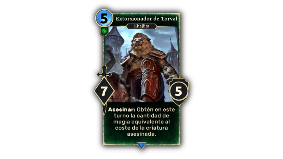 TESL Torval Extortionist in-body ES