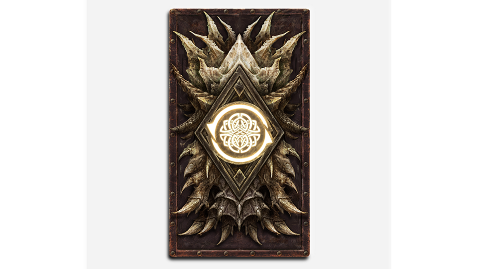 TESL Dragonscale Card Back