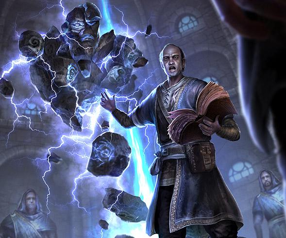 Image result for elder scrolls conjuration art