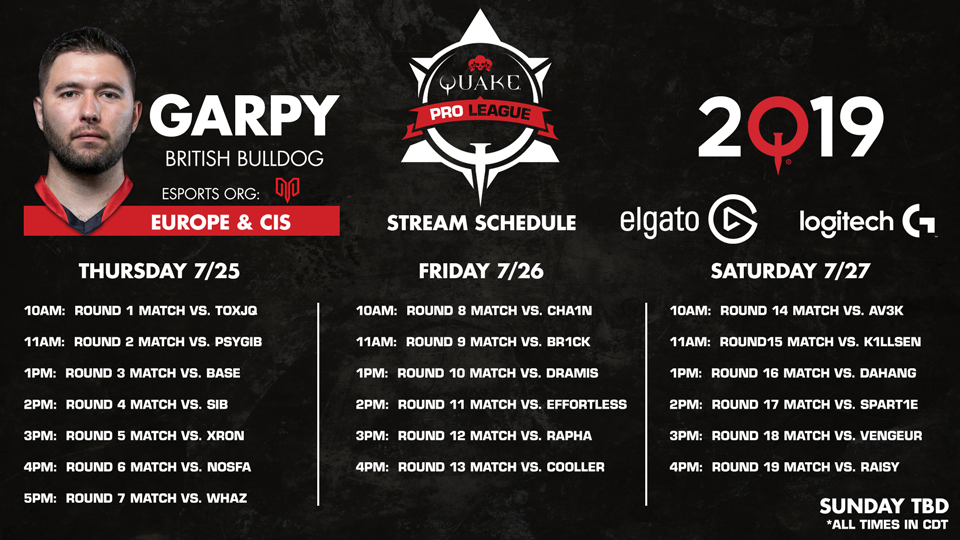 Garpy-QuakeCon-Schedule 960x540