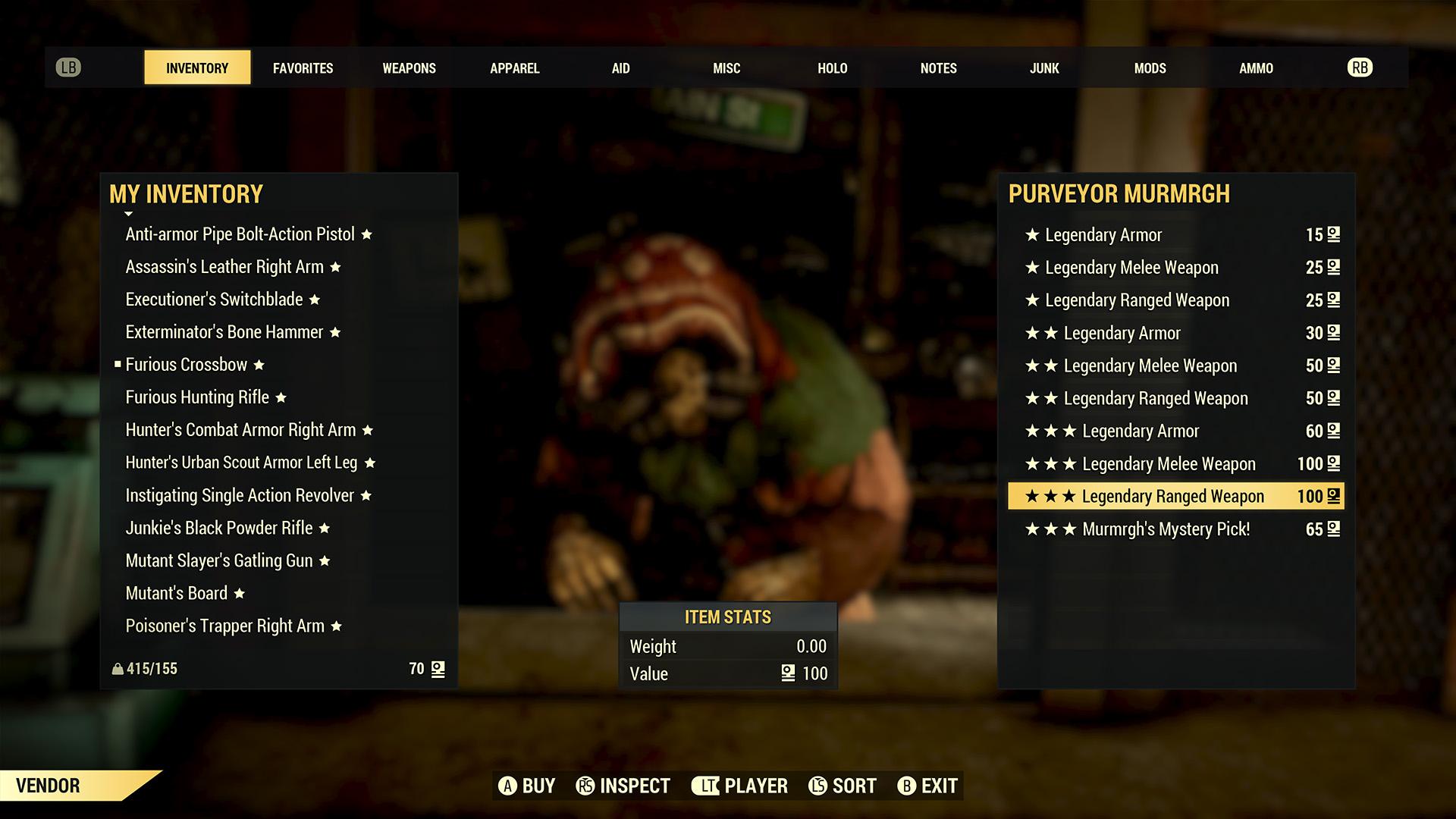 Gambling mechanics added to Fallout 76