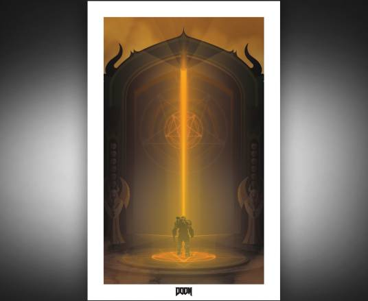 "Limited Edition ""At the Gates"" Poster"