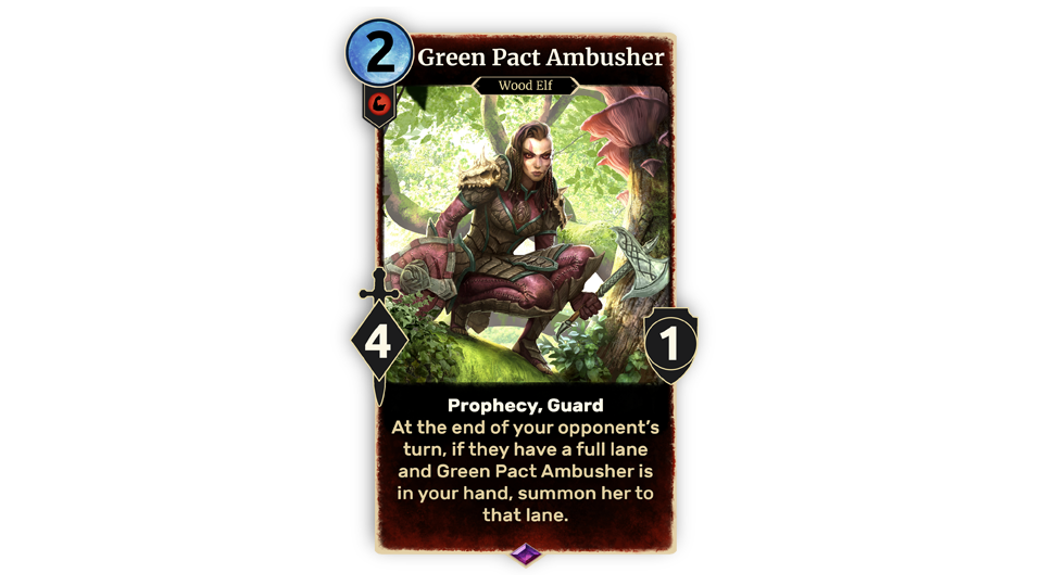 TESL Green Pact Ambusher in-body EN