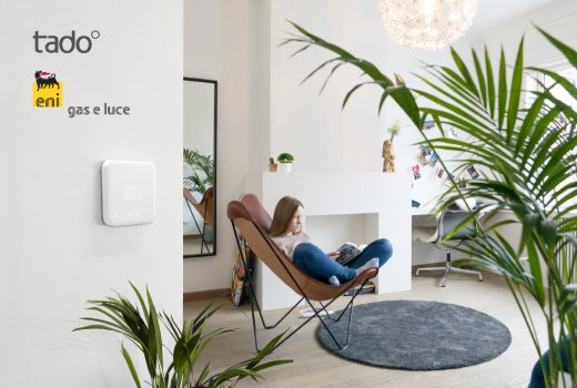 Eni gas e luce chooses the tado° Smart Thermostat solution for its new Smart Home offer