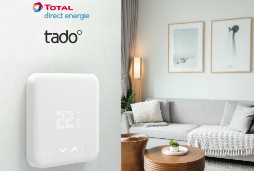 Total Direct Energie partners with tado°