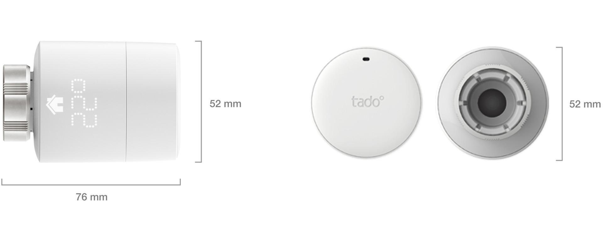 Smart Radiator Thermostat dimensions