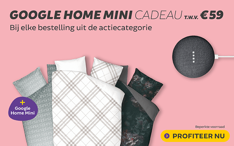 Gratis Google Home Mini