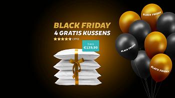 Black Friday Deals: Gratis 4 kussens bij elke bestelling uit de actiecategorie! Black Friday 2020