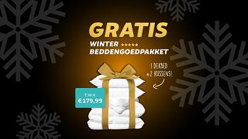 Actie: Gratis Winter beddengoedpakket bij elke bestelling uit de actiecategorie