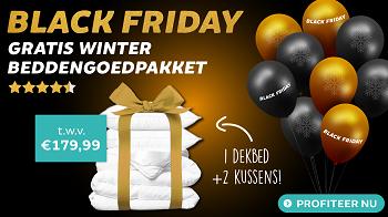 Black Friday Deals: Gratis Winter Beddengoedpakket bij elke bestelling uit de actiecategorie! Black Friday 2020