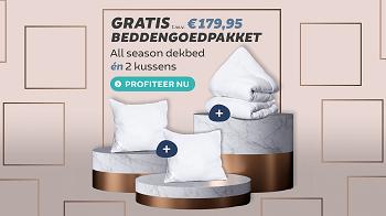 Gratis Beddengoedpakket t.w.v. €179,95