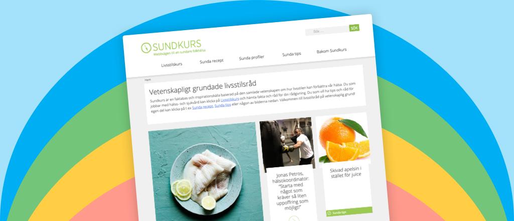 Vetenskapliga livsstilsråd på webben!