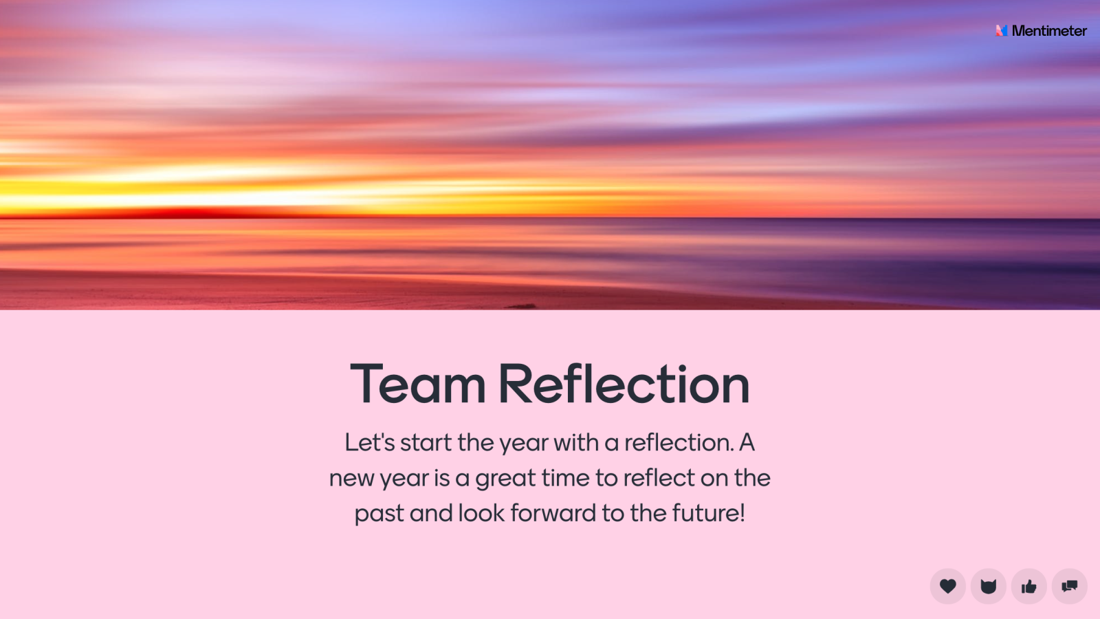 Team reflection