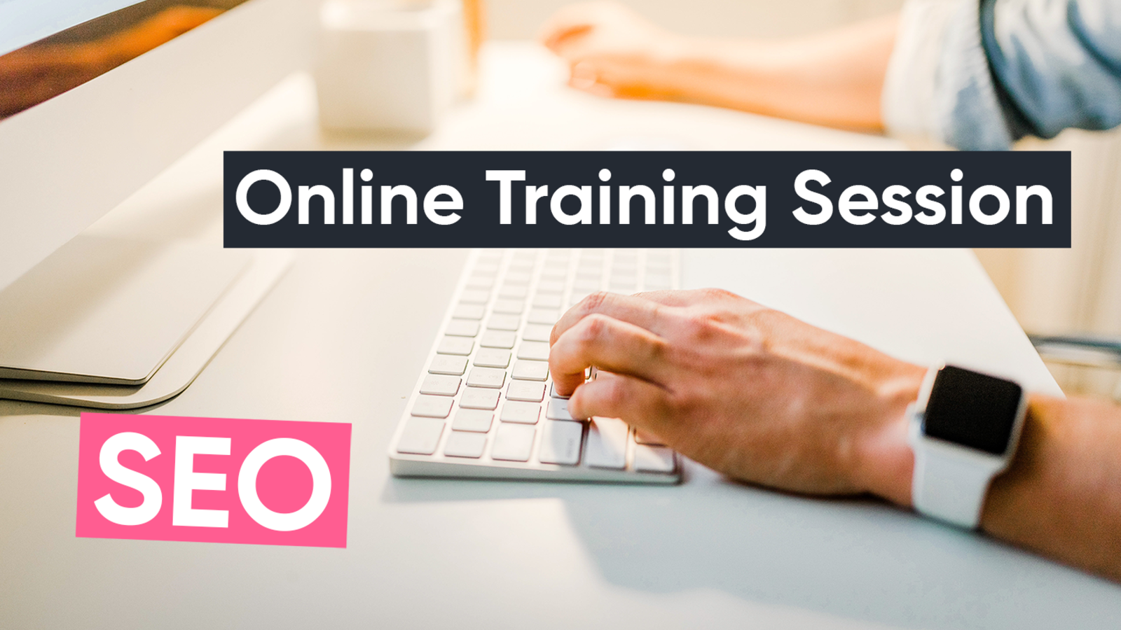 Online training session